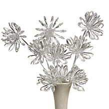 Crystal Flower Branch - Set of 3