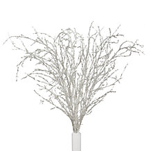 Iced Twig Branch - Set of 3
