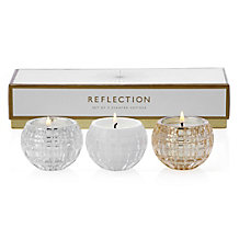 Reflection Votive - Set of 3