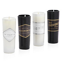 Speakeasy Shot Glass Candle set