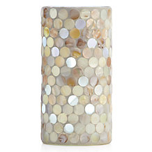 Shell Circle LED Pillar
