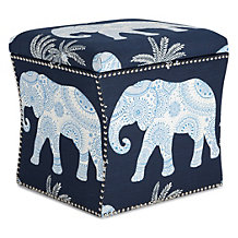 Ravi Storage Ottoman - Twilight
