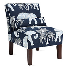 Ravi Slipper Chair - Twilight