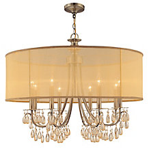 Quinn Chandelier - 32W - Brass