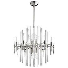 Galaxy Chandelier - Polished Nickel