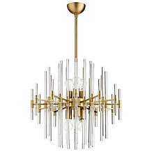Galaxy Chandelier - Aged Brass