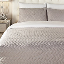 Avonna Quilt Set - Grey