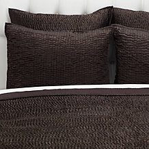 Aster Bedding - Chocolate