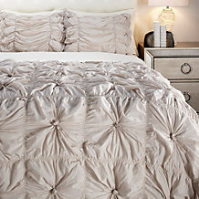 Isabella Quilted Bedding Set - Sand