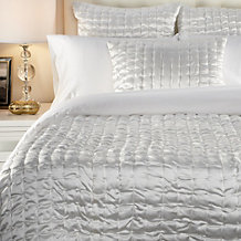 Aviana Quilted Bedding - Ivory