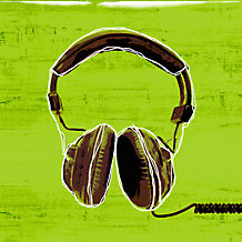 Digital Deco Headphones - Glass ...