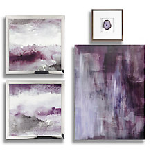 Amethyst Art - Set of 4