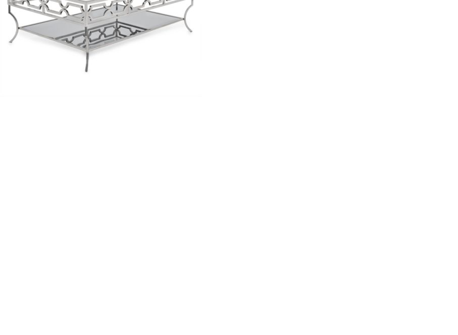 glass coffee table | polished & stylish abigail table | z gallerie