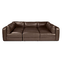 Stratus Sectional - Chocolate