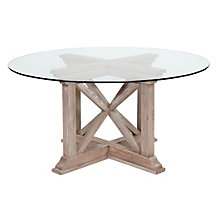 Rencourt Round Dining Table - White Wash