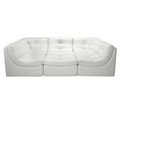 White Sectional Sofa Cloud Collection Z Gallerie