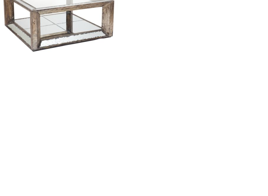 pascual mirrored coffee table | z gallerie