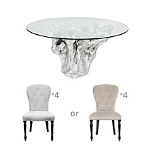 Chic Combo - Sequoia Dining Tabl...