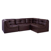 Cloud Modular Sectional - Brown