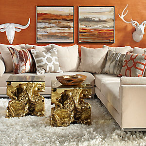 Ventura Mandarin Living Room Inspiration