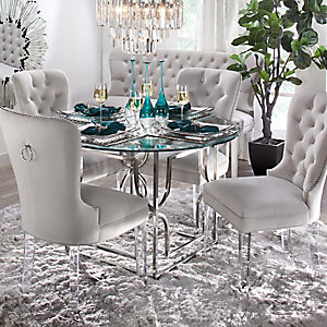 Charlotte Round Dining Room Inspiration