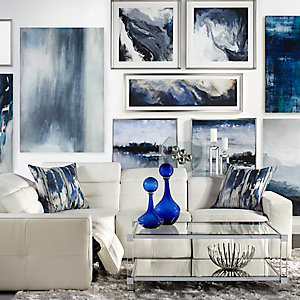 Milan Gallery Wall Living Room Inspiration