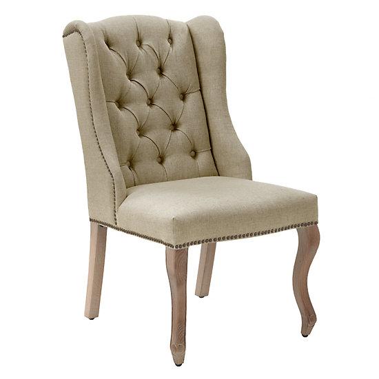 Archer Dining Chair   Wash Oak