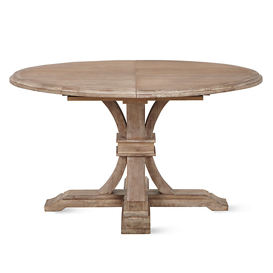 Archer Round Extendable Dining Table Z Gallerie : archer wash oak extending pedestal dining table 999804522 from www.zgallerie.com size 550 x 550 jpeg 26kB