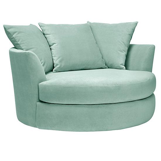 cuddler chair cozy round cuddle chair z gallerie source zgallerie