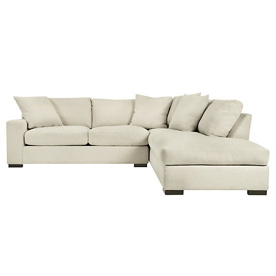 Del mar sectional sofa z gallerie for Z gallerie sectional sofa