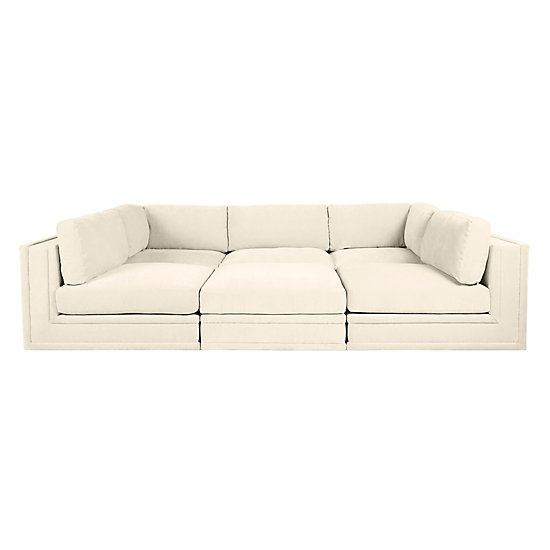 luka pit sectional 6 pc cloud modular living room inspiration living room inspiration inspiration z gallerie