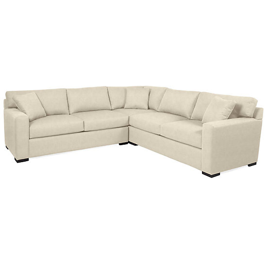 phoenix corner sectional - 3 pc | ventura natural living room