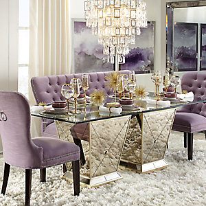 Amethyst Borghese Dining Room Inspiration