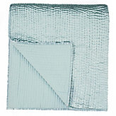 Queen Coverlet - Venetian Blue