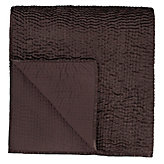 Queen Coverlet - Chocolate