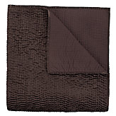 Dual King Coverlet - Chocolate