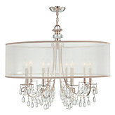 "Eight-arm Chandelier 32""W"