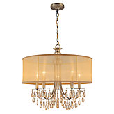 "Five-arm Chandelier 24""W"