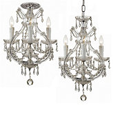 "Three-arm Chandelier 12""W"