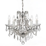 "Five-arm Chandelier 19""W"
