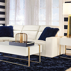 Milan White Living Room Inspiration