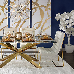 Estella Gold Dining Room Inspiration