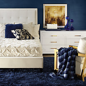 Riley Sapphire Bedroom Inspiration