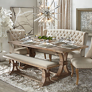 Archer Neutral Dining Room Inspiration