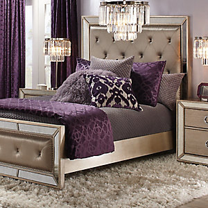 Ava Aubergine Bedroom Inspiration
