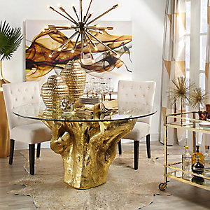 Sequoia Gold Dining Room Inspiration