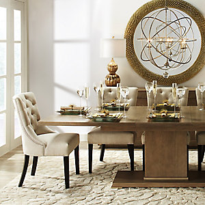 Quinn Natural Dining Room Inspiration