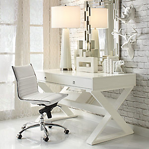 White on White Office Inspiration
