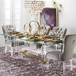 Savoy Acrylic Dining Room Inspiration