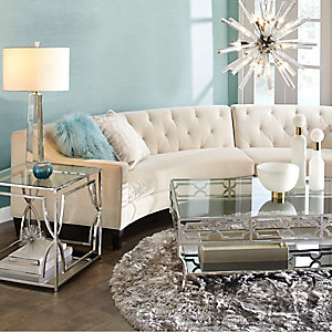 Aqua Circa Sofa Sectional Living Room Inspiration